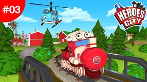 Heroes of the City – Train Adventure